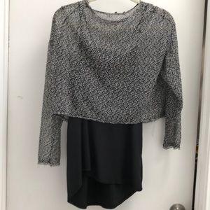 NEW Zara Cami & Crop Sweater